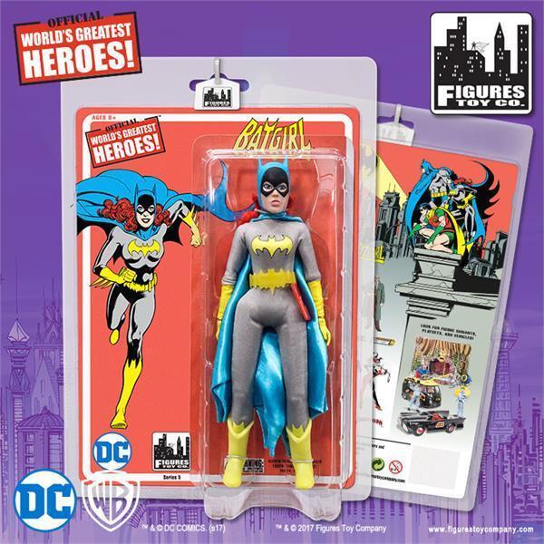 DC Comics Batman Retro  8     action figure Series 5 BATGIRL  mosc NEW  75c4c3