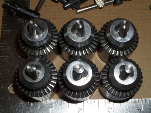 3//8-24 threaded w/' Key Jacobs Chuck 7B Drill Chuck 0-1//4 #3120C