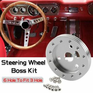 Kylin-0-5-034-Steering-Wheel-Hub-Adapter-Conversion-Spacer-6-Hole-To-Fit-Grant-APC