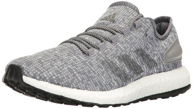 59c725fe1 Buy Mens adidas Pure Boost Running Shoes Grey BA8900 Pureboost 10 1 ...