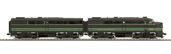 MTH Escala 8020950 Ho FA-1 RDG 300A 300B (leer un conjunto B) - Nuevo C-10 Como Nuevo