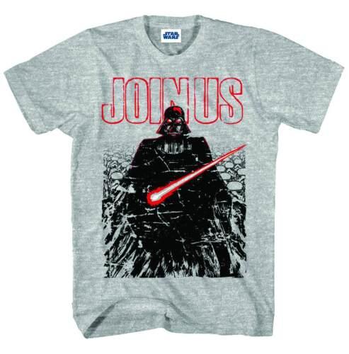Star Wars Join Them Grey Heather T-Shirt