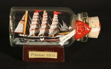 Passat Mini Buddelschiff 10 ml 5x2 cm original Flaschenschiff Handmade