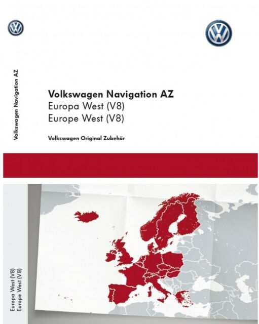 VW RNS 315 East Europe V8 Navigation Map SD Card Rns315 2018 Seat SKODA