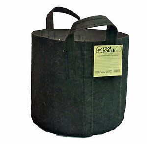 25 Root Pouch noir Géotextile Smart grow Pot déco container 12L - 3 gallons
