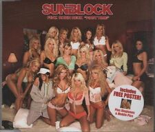 SUNBLOCK feat ROBIN BECK First Time    3 TRACK CD + POSTER  NEW - NOT SEALED