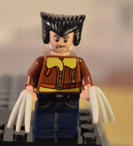 Custom 100/% Genuine LEGO Marvel Superheroes Old Man Logan WOLVERINE X-Men Future