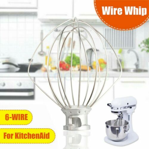 For Kitchen Aid K45WW Wire Whip Beater Mixer Attachment Whisk  KSM90 KSM150