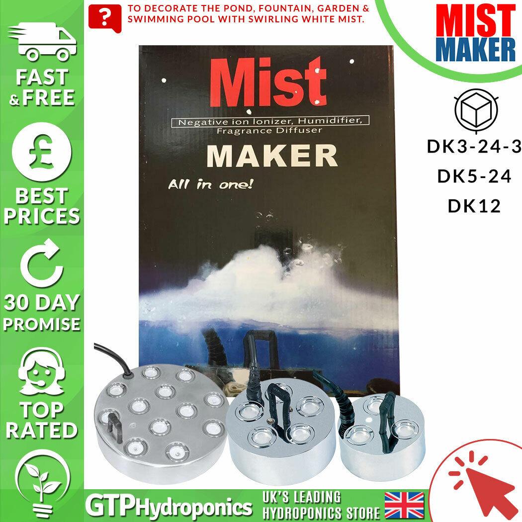 Mist Maker Fogger DK3-23-4   DK5-24   DK12 - With Float - Ultrasonic Humidifier