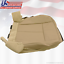 2013 2014 Ford Expedition Eddie Bauer Driver Side Bottom Leather Seat Cover Tan