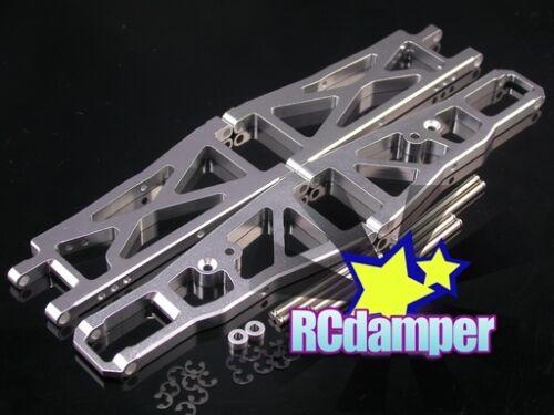 ALUMINUM FRONT /& REAR LOWER SUSPENSION ARM S HPI NITRO MT2 18SS RTR G3.0 ALLOY