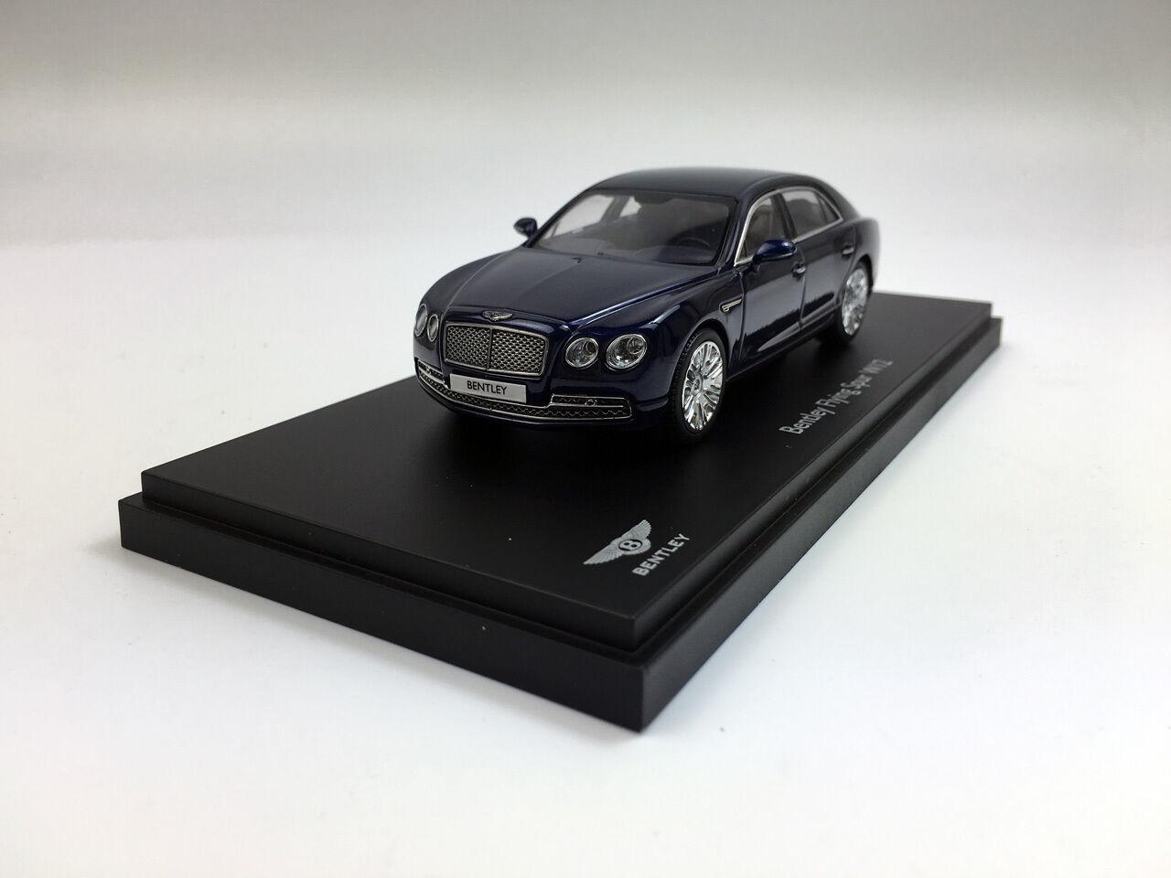 sin mínimo Bentley Flying Spur W12 Kyosho 1 43 Diecast Metal Coche Coche Coche Modelo 05561PC de pavo real  ofrecemos varias marcas famosas