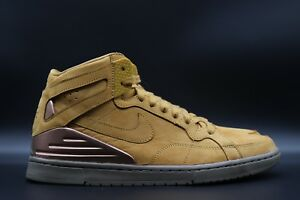 purchase cheap 4b40f cf76d Image is loading Nike-SB-Zoom-Air-94-Supreme-Wheat-428927-