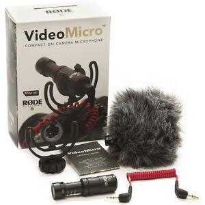 Rode-VideoMicro-Rycote-Lyre-Shock-Mount-On-Camera-Recording-Microphone