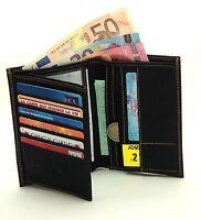 Portefeuille Homme Tout En Un Carte Visite Photo Monnaie Complet