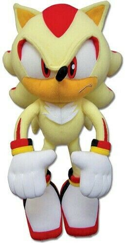Sonic The Hedgehog Super Shadow 10 Inch Plush Toy For Sale Online Ebay