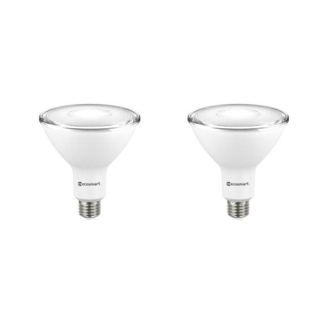 Ecosmart 90w Equivalent Bright White Par38 Non Dimmable Led Flood Light Bulb