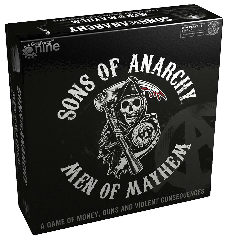 Sons of Anarchy SOA Men of Mayhem - New Opened Box - Free Shipping