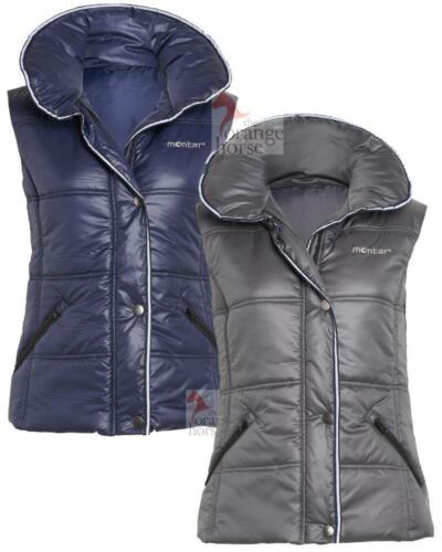 Montar Ladies Waistcoat Blue West and Grey West