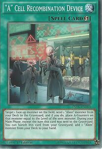 "YU-GI-OH CARD: ""A"" CELL RECOMBINATION DEVICE - INOV-EN063 1ST EDITION"
