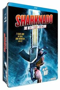 Sharknado (The Ultimate Collection Metalbox) (5Blu Ray + Dvd) - BluRay O_B005054