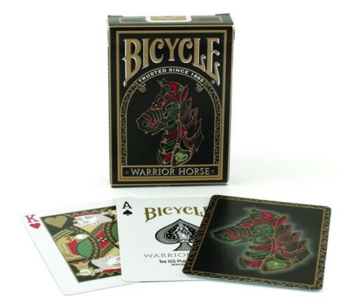 - NEU POKER CARDS Bicycle 1027282 WARRIOR HORSE Skat usw Poker