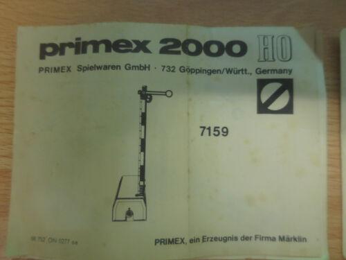 Märklin d/'Exploitation des instructions de 7039 7040 7041 7036 7037 7038 7188 7240 41 d8//2