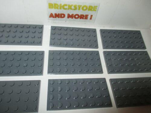 LEGO noir plaque 4x8 5 pièces 3035