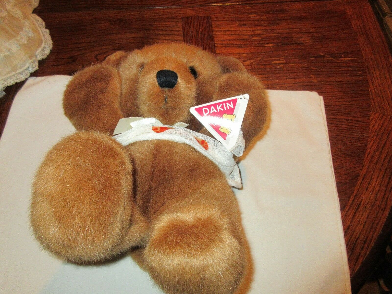 Stuffed Animal, By Dakin, Bear in a Sling , Pre Owned ,