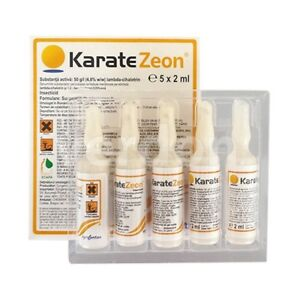 Details about Insecticide KARATE Zeon 5x2ml For Vegetables,Fruit  Trees,Vine-yard Syngenta
