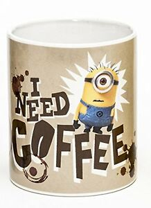 Despicable Me 2 20 Ounce Jumbo Ceramic Coffee Mug Cup