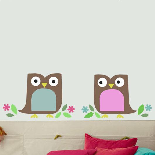 Owl Stencil Children's Home DÃ Cor Wall Art Paint Reusable