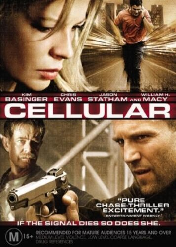 1 of 1 - Cellular (DVD, 2005) R4 PAL NEW FREE POST