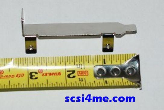 Low-Profile Mounting Bracket for SAS RAID Card M1015 BR10i 9260-4i 9261-8i 9265
