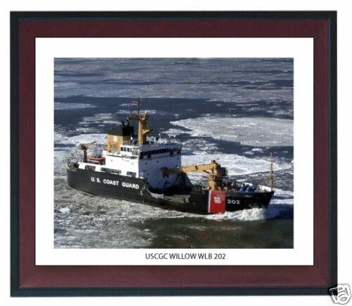 USCGC WILLOW WLB 202 ---USCG, United States Coast Guard Ship Photo Drucken