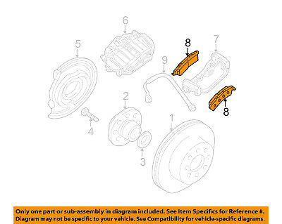 GM OEM Brake-Rear Pads 19210705