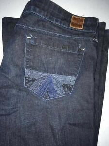 AMERICAN EAGLE AE Dark Wash Real Flare Jeans Women's Size 6 Regular