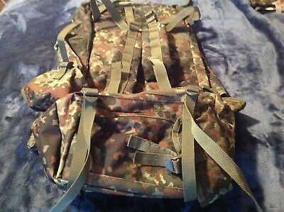 New Tacgear Evasion Army Backpack Flecktarn Camo Military Tactical Gear