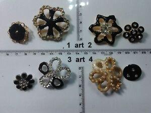1-lotto-bottoni-gioiello-smalti-pietre-vetro-murrine-buttons-boutons-vintage-g3