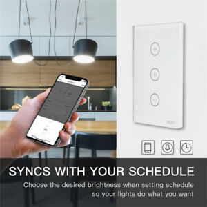 Image Is Loading Wifi Smart Wall Light Dimmer Switch Mobile Works