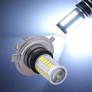 12V H4 33-LED SMD White Super Bright Fog Light Headlight Driving Car Lamp Bulb