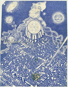 1972 Earth Day poster by Hieronimus