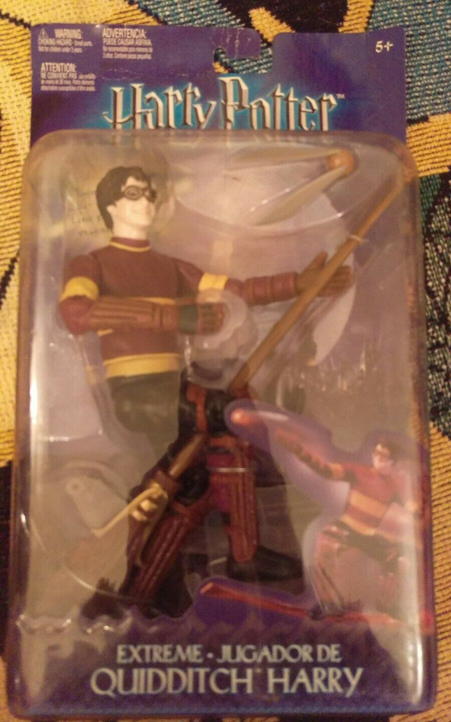 Harry Potter Extreme Quidditch 8  Deluxe Figure Toy in in in Box with broom and snitch 341cd7