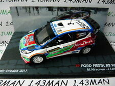 voiture 1/43 IXO Altaya Rallye ITALIE : FORD Fiesta RS wrc Hirvonen 2011