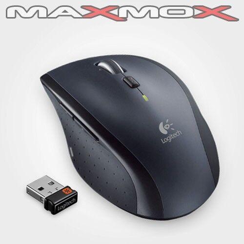 1 von 1 - Logitech M705 Wireless NANO Mouse USB Laser Computer Maus optisch Funk kabellos