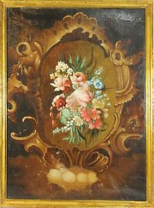 F3-025-STILL-LIFE-OF-FLOWERS-OIL-ON-CANVAS-CENTURY-XVIII