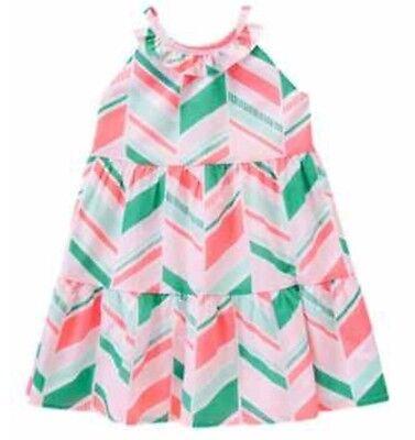 NWT Gymboree Girls ISLAND CRUISE Dress NEW Pink Size 8