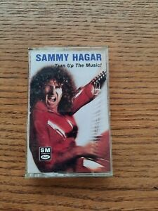 CASSETTE TAPE SAMMY HAGAR TURN UP THE MUSIC 1987 CAPITOL