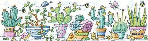 Cactus Garde Karen Carter Collection Heritage Crafts Counted Cross Stitch Kit