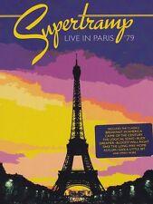 SUPERTRAMP : LIVE IN PARIS 1979 -  DVD - UK Compatible Sealed